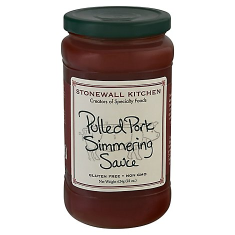 Stonewall Kitchen Simmering Sauce Pulled Pork Jar - 21 Oz