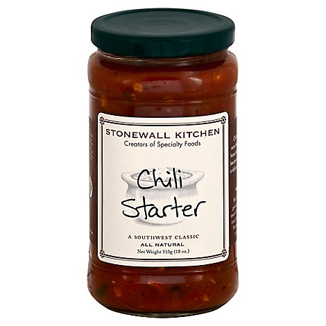 Stonewall Kitchen Chili Starter - 18 Oz