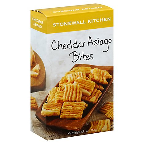 Stonewall Kitchen Bites Rosemary Cheddar - 4.5 Oz