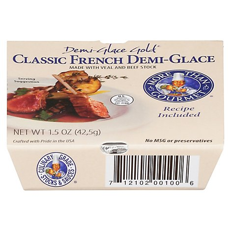More Than Gourmet Demi-Glace Classic French Demi-Glace Gold - 1.5 Oz