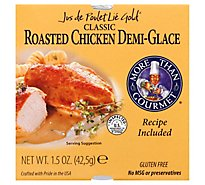 More Than Gourmet Demi-Glace Classic Roasted Chicken Jus de Poulet Lie Gold - 1.5 Oz