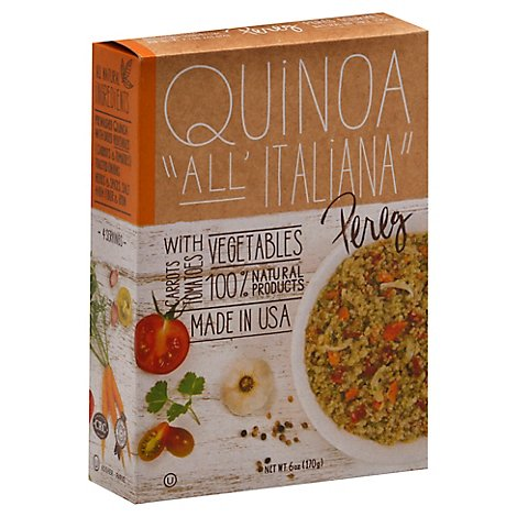 Pereg Gourmet Quinoa All Italiana Box - 6 Oz