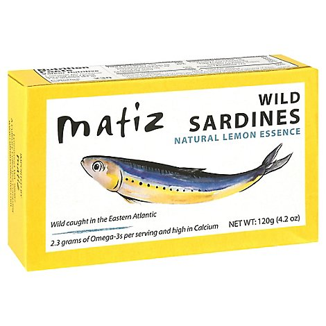Matiz Gallego Sardines Fish - 4.2 Oz