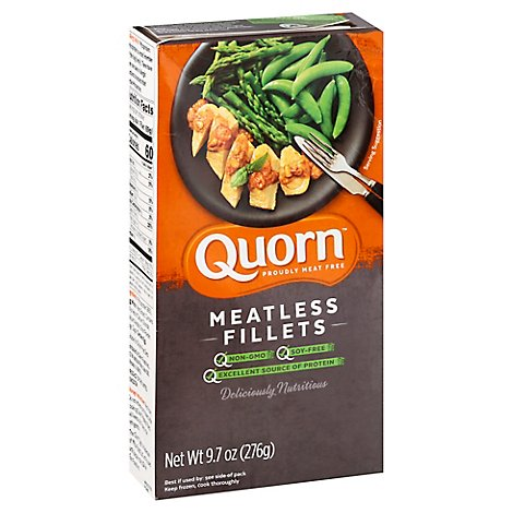 Quorn Meatless Fillets Non GMO Soy Free - 9.7 Oz