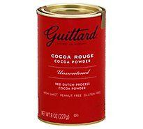 Guittard Cocoa Powder Cocoa Rouge Unsweetened - 8 Oz