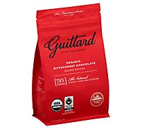 Guittard Baking Wafers Organic Bittersweet Chocolate - 12 Oz