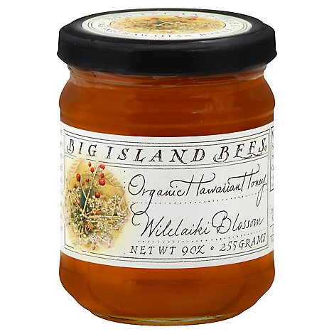 Big Island Bees Honey Hawaiian Organic Wilelaiki Blossom - 9 Oz