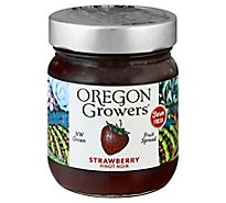 Oregon Growers Fruit Spread Pinot Noir Strawberry - 12 Oz