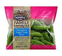 Manns Family Favorites Stringless Sugar Snap Peas - 8 Oz