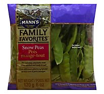 Manns Family Favorites Snow Peas Gourmet - 6 Oz