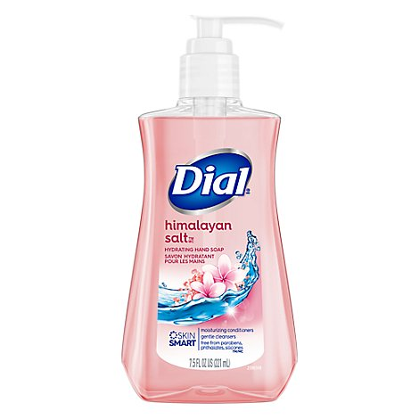 Dial Liquid Hand Soap With Moisturizer Himalayan Pink Salt & Water Lily - 7.5 Fl. Oz.