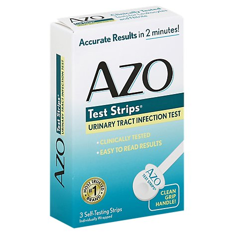 AZO Test Strips Urinary Tract Infection - 3 Count