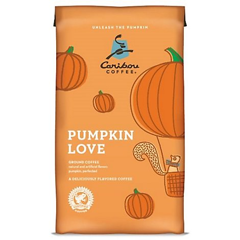 Caribou Coffee Coffee Ground Pumpkin Love - 11 Oz
