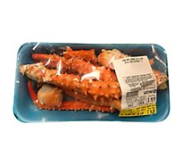 Seafood Service Counter Crab King Alaskan Leg & Claw Previously Frozen 20 to 24 Count - 5.00 LB