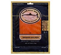 Blue Hill Bay Salmon Smoked Pre-Sliced - 4 Oz