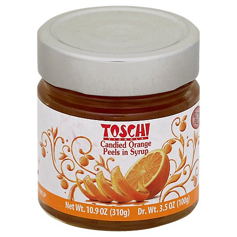 Toschi Cherries Orange Peels - 10.9 Oz