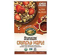Natures Path Organic Sunrise Cereal Gluten Free Maple - 10.6 Oz