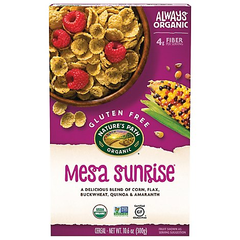 Natures Path Organic Mesa Sunrise Cereal Gluten Free - 10.6 Oz