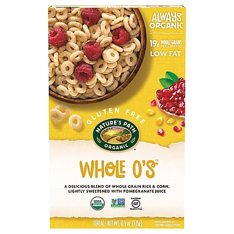 Natures Path Organic Cereal Gluten Free Whole Os - 11.5 Oz