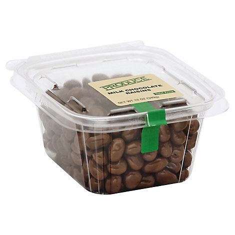 Milk Chocolate Raisins - 12 Oz
