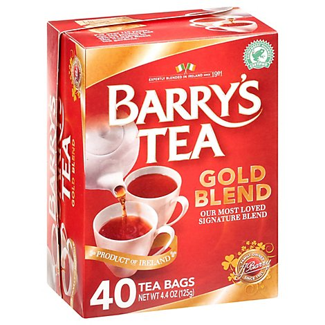 Barrys Tea Tea Gold Blend - 40 Count