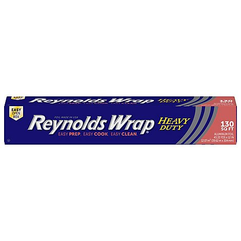 Reynolds Aluminum Foil Heavy Duty 130 Square Feet - Each