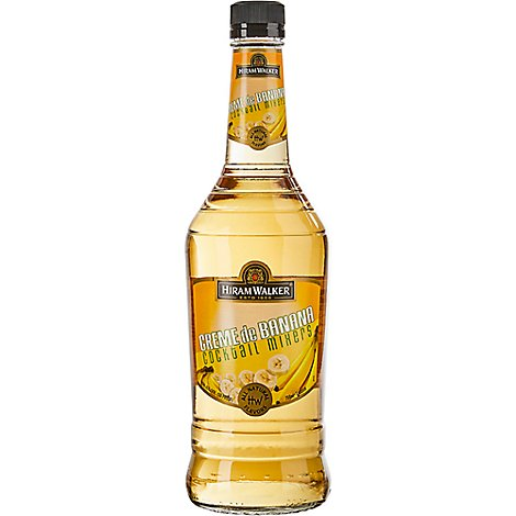 Walker Crm De Banana Liqueur 30 Proof - 750 Ml