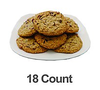 Fresh Baked Oatmeal Raisin Cookies - 18 Count