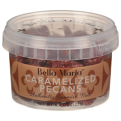 Bella Maria Pecans Carmelized - 4 Oz