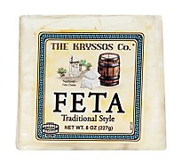 Kryssos Feta Chunk Traditional - 8 Oz