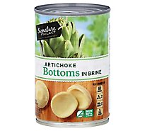 Signature SELECT Artichokes Bottoms in Brine - 13.75 Oz