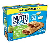 Nutri-Grain Soft Baked Breakfast Bars Apple Cinnamon Value Pack - 20.8 Oz