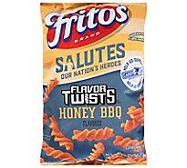 Fritos Flavor Twists Corn Snacks Honey BBQ Flavored - 9.25 Oz