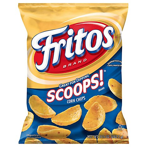 Fritos Scoops! Corn Chips - 9.25 Oz