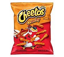 Cheetos Snacks Cheese Flavored Crunchy - 8.5 Oz