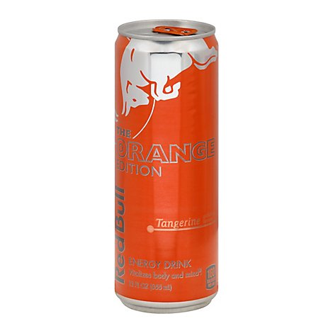 Red Bull Energy Drink The Orange Edition Tangerine - 12 Fl. Oz.