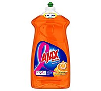 Ajax Dish Liquid Triple Action Ultra Orange Bottle - 52 Oz