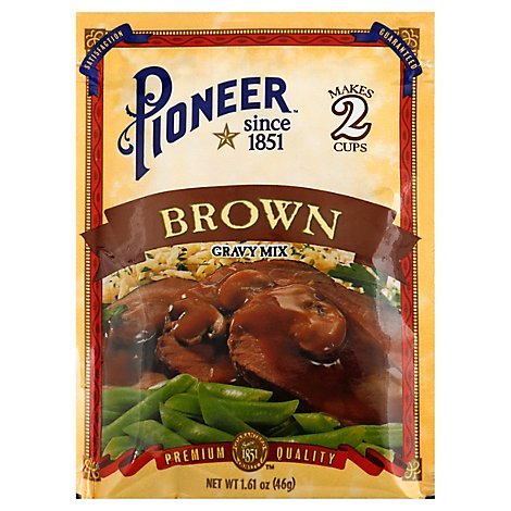 Pioneer Brand Gravy Mix Brown - 1.61 Oz