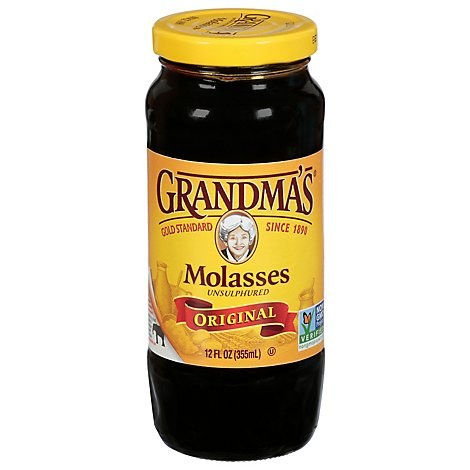 Grandmas Original Unsulphered Molasses - 12 Fl. Oz.