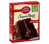Betty Crocker Favorites Cake Mix Super Moist Devils Food - 15.25 Oz