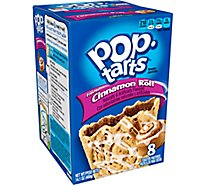 Pop-Tarts Breakfast Toaster Pastries Frosted Cinnamon Roll Flavored (8 Count) 14.1 oz