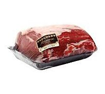 Meat Counter Beef USDA Choice Top Loin New York Strip Roast Bi Custom Cut - 3 LB