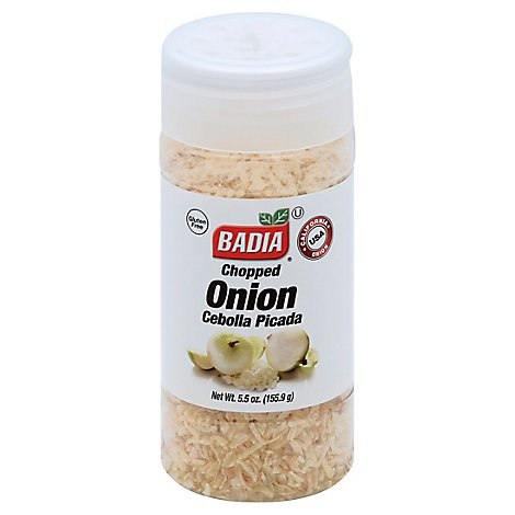 Badia Onion Chopped - 5.5 Oz