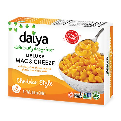 Daiya Cheezy Mac Deluxe Cheddar Style Box - 10.6 Oz