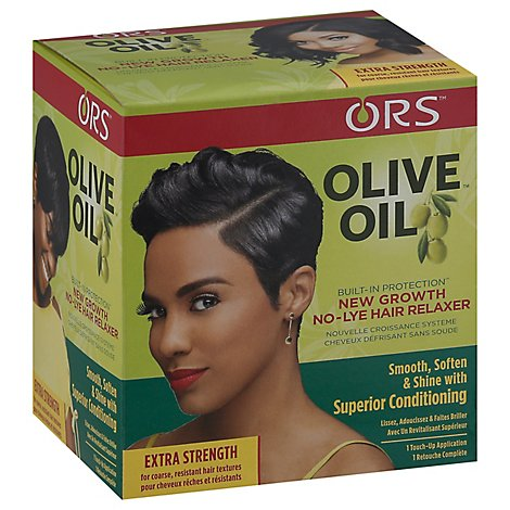 ORS Olive Oil Hair Relaxer No-Lye Application Extra Strength - Each