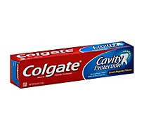 Colgate Toothpaste Anticavity Fluoride Cavity Protection Great Regular Flavor - 4 Oz