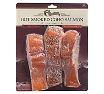 Echo Falls Salmon Coho Smoked Trio Cajun Spice Traditional & Pepper - 12 Oz
