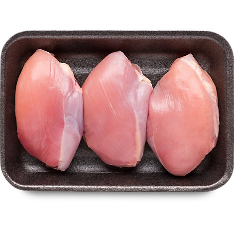 Meat Counter Chicken Thighs Boneless Skinless Bulk Fresh - 4.00 LB