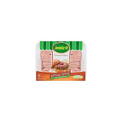 Jennie-O Turkey Store Ground Turkey 85% Fat 15% Lean - 16 Oz