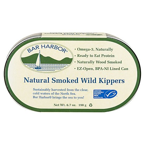 Bar Harbor Wild Kippers Smoked - 6.7 Oz